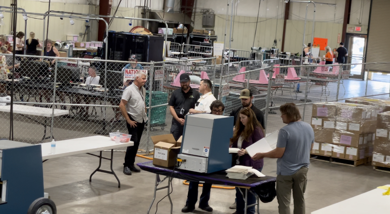 EXCLUSIVE: New Machines Used to Recount Ballots in Arizona Will Count Batches 600 Ballots at a Time 2