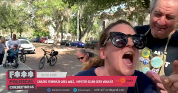Unhinged Lunatic Assaults, Threatens Gateway Pundit Reporter Jacob Engels at Florida Women's March (VIDEO)