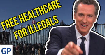 Far-Left California Governor Gavin Newsom Signs Bill To Give Taxpayer Funded Healthcare To Illegal Aliens (VIDEO)