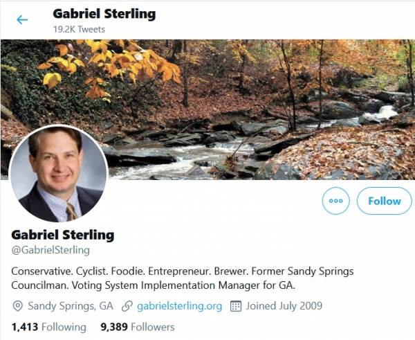 Gabriel-Sterling-600x491 Lin Wood Outed Mysterious Georgia Operative Gabe Sterling – Now Video Shows Him Admitting He Helped Set Up Drop Boxes and Promoted Far Left Activists as Absentee Ballot Counters Politics Top Stories [your]NEWS