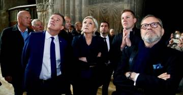 Marine Le Pen Closes Presidential Campaign in Symbolic Reims Cathedral – Under a Volley of Slings and Arrows