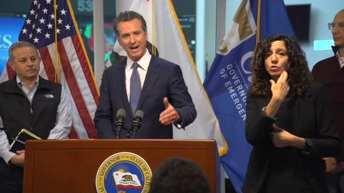 Newsom's Office Refuses to Say Whether CA Governor is Quarantining After Two of His Children Test Positive For Covid-19