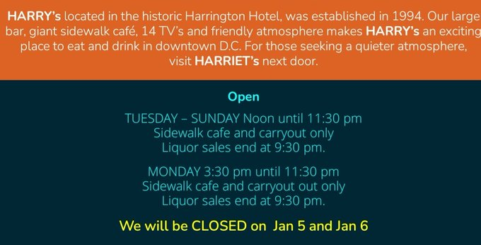 DC's Hotel Harrington Closes for January 6 Pro-Trump March After Pressure Over Proud Boys
