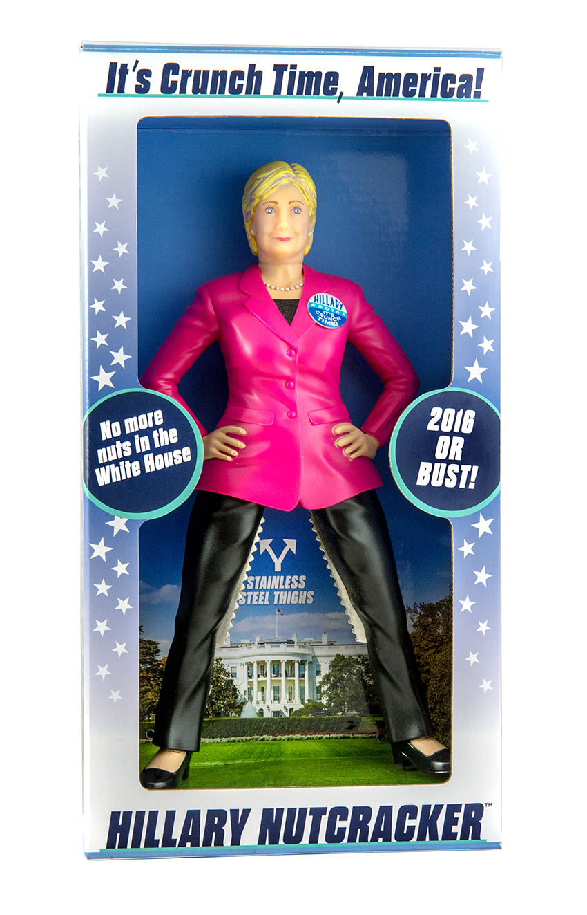 Hillary Clinton Nutcracker 2016 Official