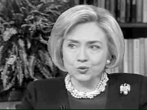 Hillary Clinton Today Show 1998 You Tube