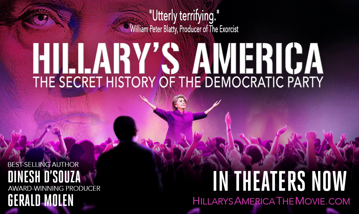 Hillarys America Promo In Theaters Now