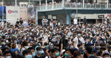 Live from Hong Kong: Police Fire 150 Cans of Tear Gas at Demonstrators As Mass Protests Against Changes to China Extradition Law Continue