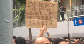 MUST SEE: Democracy Protesters Adopt Christian Song 'Sing Hallelujah to the Lord' as Battle Cry Against Communist Regime