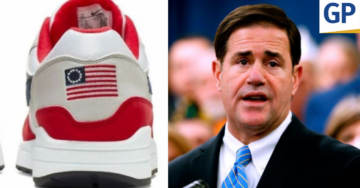 WATCH: Arizona Governor BASHES Anti-American Nike's Decision To Stop Selling American Flag Themed Shoes