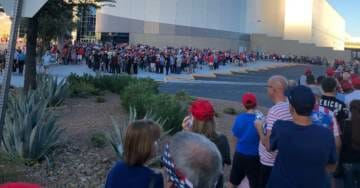 Photos: 'Just Like 2016!' MASSIVE LINES for President Trump Rally in Las Vegas