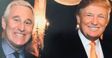 """President Trump Praises Roger Stone: """"Some People Still Have Guts"""""""