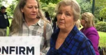 Juanita Broaddrick at Pro-Kavanaugh Rally: Schumer and Feinstein Wouldn't Listen to My Evidence (VIDEO)