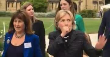 Here We Go Again… Hillary Clinton Coughs Uncontrollably at Mansfield College – Requests Water (VIDEO)