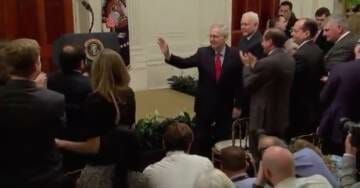 Mitch McConnell Receives Standing Ovation Ahead of Kavanaugh Swearing-in Ceremony (VIDEO)