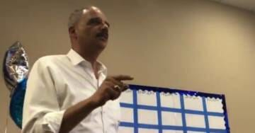 """ERIC HOLDER: When Republicans Go Low, 'We Kick Them' …Crowd Chants, """"Fight! Fight! Fight!"""" (VIDEO)"""