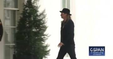 Kid Rock Gets Snarky With a Reporter as He Walks Into White House (VIDEO)