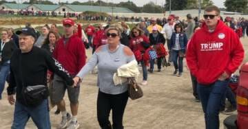 """YUGE LINES=>Thousands of Trump Supporters Line up For """"Make America Great Again"""" Rally in Lebanon, Ohio (VIDEO)"""