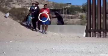 EXCLUSIVE: Via 'We Build the Wall' — Armed Mexican Cartel Member Filmed Crossing US Border in Broad Daylight — Over 1000 Sneak in US! (VIDEO)
