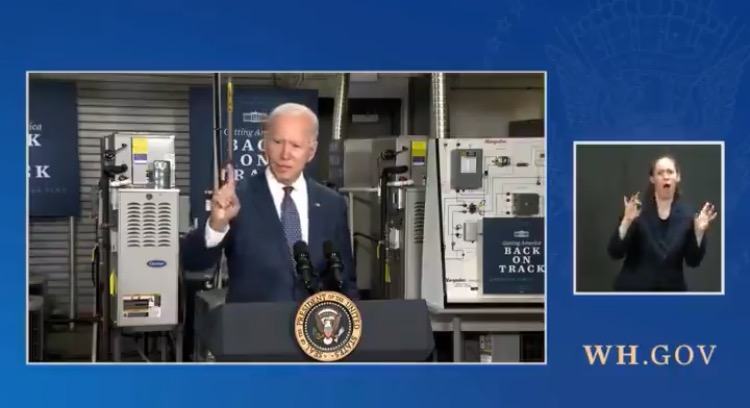 """Another Biden Flub: """"Anybody Making Less Than $400,000 a Year will Not Pay a Single Penny in Taxes"""" (VIDEO)"""