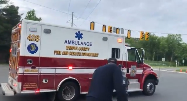 """DEVELOPING: Ambulance Arrives on Scene at CIA Headquarters After Reporters Hear 13 """"Loud Bangs"""" Following Security Incident (VIDEO)"""