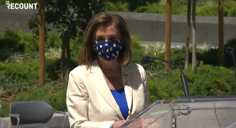 """Pelosi Praises Liz Cheney For Trashing Trump: """"I Do Commend Lynne Cheney For Her Courage, For Her Patriotism"""" (VIDEO)"""