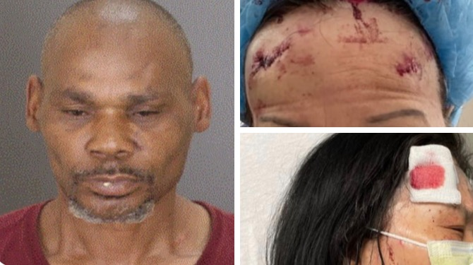Black Man Arrested For Brutally Beating Two Elderly Asian Women with Cinder Block in Baltimore Shop (GRAPHIC VIDEO)