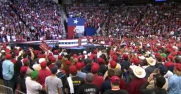 WATCH=> LIVE FEED VIDEO of MASSIVE Trump Rally With Ted Cruz in Houston