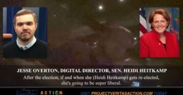 O'Keefe Strikes Again! Heidi Heitkamp Director Details Bait and Switch 'If She Gets Re-Elected She's Going to be Super Liberal' (VIDEO)