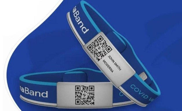 'Look, I'm Safe to Be Around' - New Covid Wristbands Are a Way to Prove You've Been Fully Vaccinated