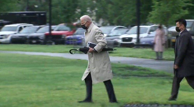 Biden Spends Another Weekend Away From the White House, Vacations at Camp David (VIDEO)