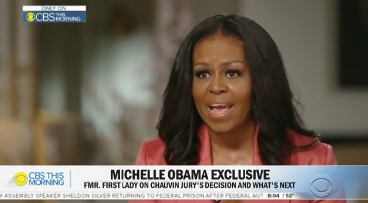 Michelle Obama Says She is Terrified Her Daughters Will be Racially Profiled When They're Driving Alone (VIDEO)
