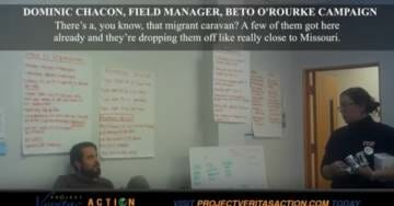 O'Keefe Strikes Again! Beto Campaign Appears to Illegally Spend Funds on Supplies For Caravan Aliens (VIDEO)