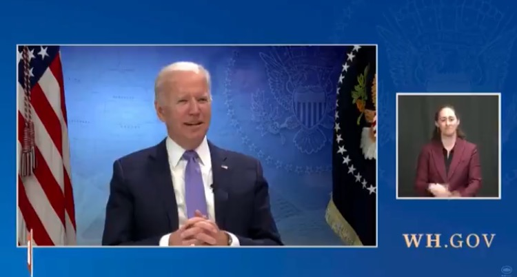 WTH? Joe Biden Renames New Mexico During Live Stream with Governors (VIDEO)