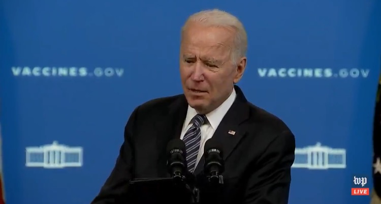 """Joe Biden Forgets Kevin McCarthy's Name Shortly After Speaking with Him Face to Face: """"The Solid Meeting With Uh..with Uh..the Uh…"""" (VIDEO)"""