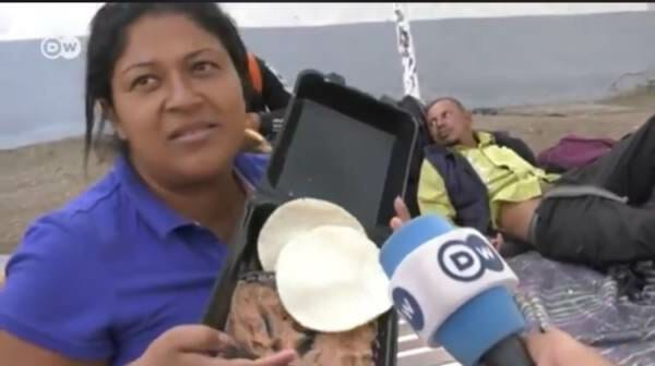 photo image Honduran Migrant Complains About Free Meals Provided by Mexico – Calls it 'Pig Food' (VIDEO)