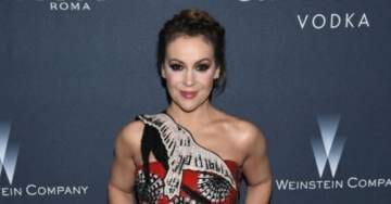 Alyssa Milano Raising $100,000 For Migrant Caravan, While 48,000 Veterans and 380,000 Children Are Homeless