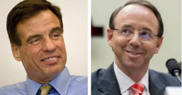 Report: Rosenstein Appointed a Special Counsel to Investigate Trump in Response to a Request From Dem Senator Mark Warner