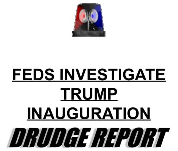BREAKING: Trump Inauguration Spending Under Criminal Investigation by Feds