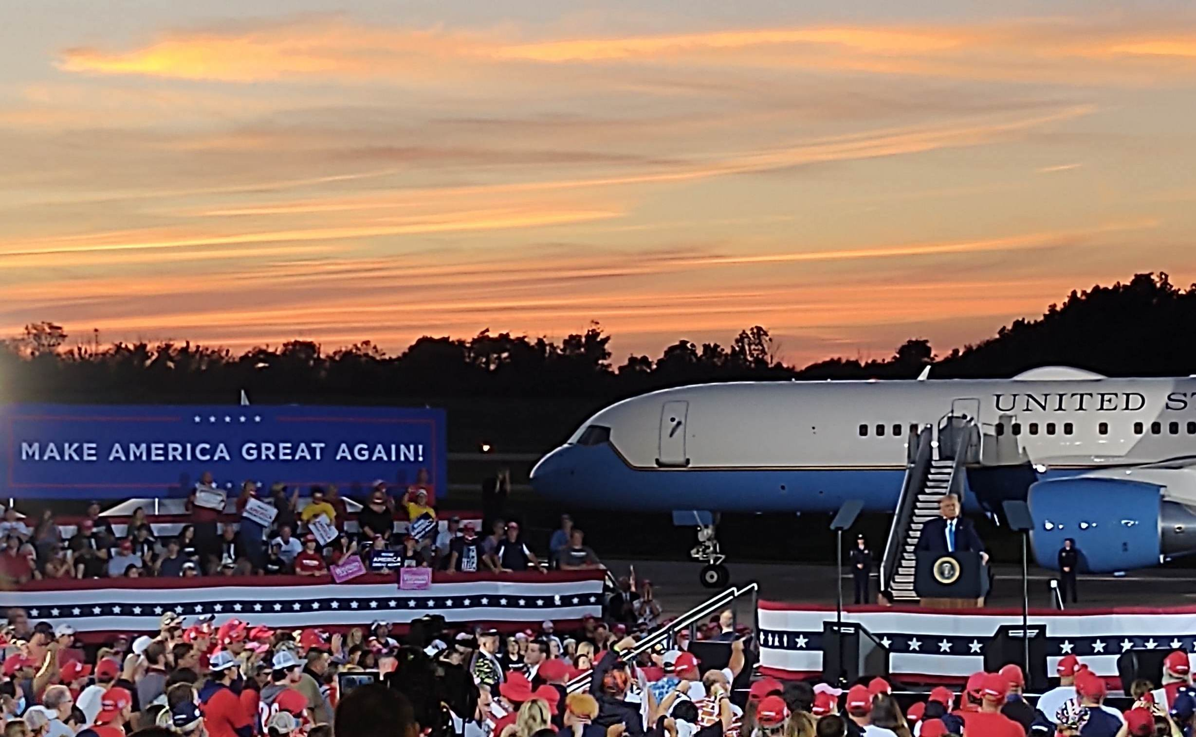 BREAKING: Trump to Hold Sendoff Ceremony at Joint Base Andrews on Wednesday Morning at 8 AM