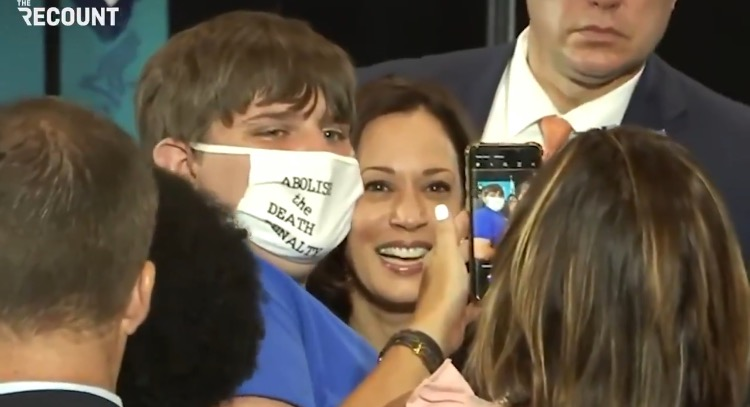 Instead of Visiting the Border, Kamala Harris Takes Selfies at Vaccination Site in South Carolina (VIDEO)