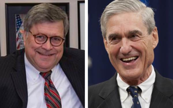"photo image Bill Barr to Tell Senators During Confirmation Hearing, ""It's Vitally Important"" That Mueller Complete Russia Probe"