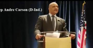 Muslim Rep. André Carson Envisions 30-35 Muslims in Congress with a Muslim President by 2030 at CAIR Reception (VIDEO)