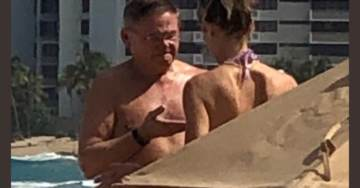 Democrat Menendez Spotted Partying with Bikini Girls in Puerto Rico During Government Shutdown
