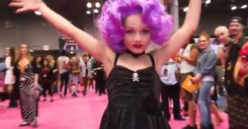 Child Abuse? 10-Year-old Boy Dressed in 'Drag' Photographed With Nude Adult Male 'Drag Queen'