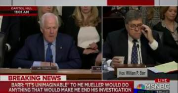 """Bill Barr Admits Comey Botched Clinton Email Investigation – But Praises """"Extremely Gifted"""" Comey Who 'Served with Distinction' (VIDEO)"""
