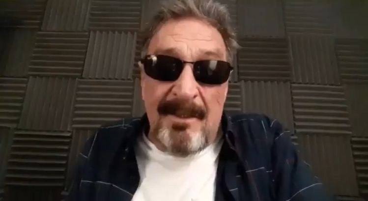 """""""If I Suicide Myself, I Didn't. I Was Whackd"""" – John McAfee Previously Hinted US Officials Threatened His Life"""