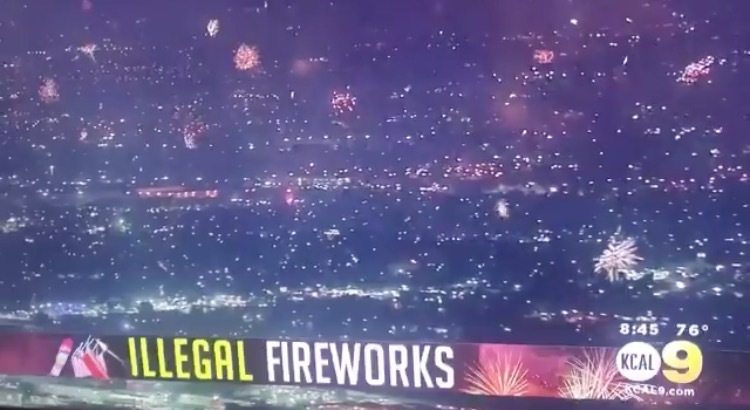 Californians Revolt After Democrats Cancel 4th of July Festivities, Light Up the Sky with Thousands of 'Illegal' Fireworks (VIDEOS)