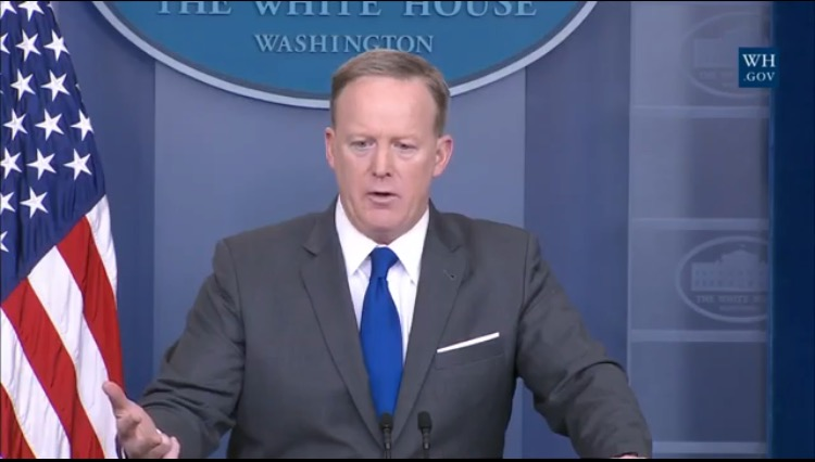 Sean Spicer Fires Back After ABC Reporter Interrupts Several Times 'It's Not Your Press Briefing' (VIDEO)