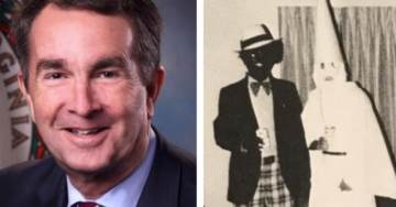 Virginia Governor Blackface Wants Confederate Arch Removed at Fort Monroe