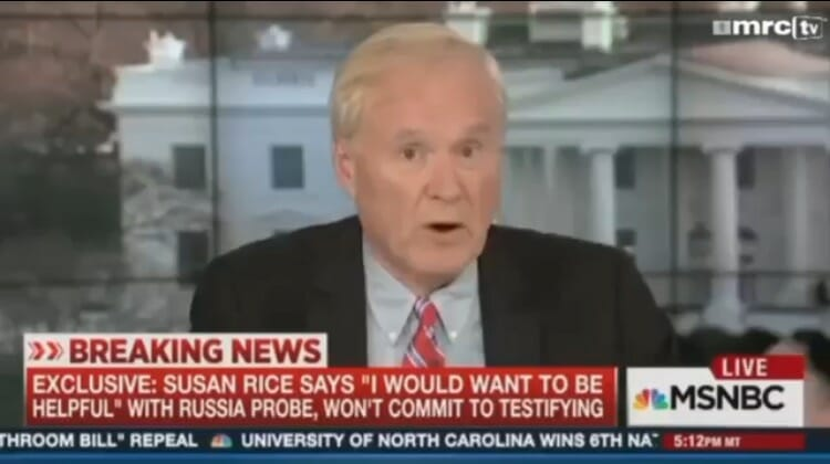 MSNBC – Chris Matthews' Hardball: Investigation of Susan Rice is Racist and Sexist (VIDEO)